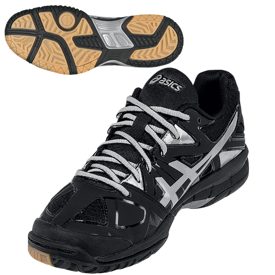 asics gel tactic indoor shoe longstreth