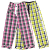 Field Hockey Plaid Cotton Lounge Pants