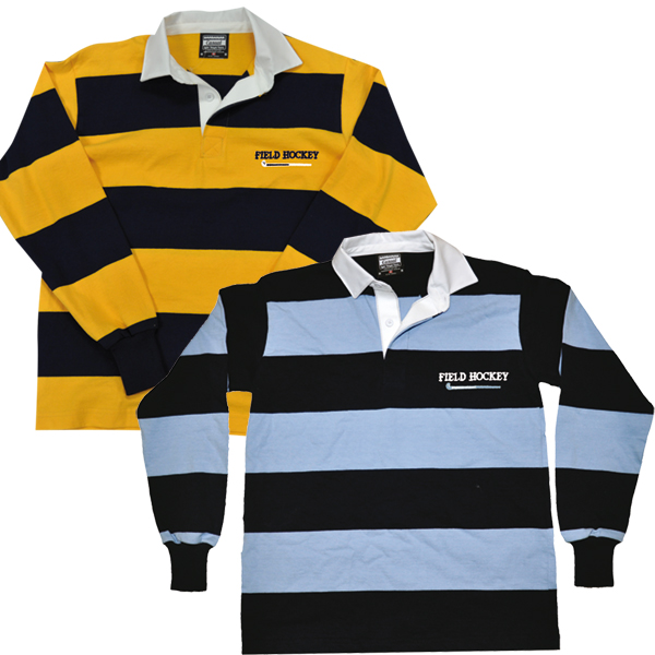 Field Hockey Casual Style Rugby Shirt
