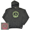 PEACE LOVE LONGSTRETH HOODED SWEATSHIRT