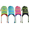 Neon Lacrosse Knit Hat with Lining
