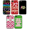 Field Hockey iPhone 4 Case