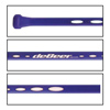 deBeer Airflow Straight Women's Lacrosse Handle