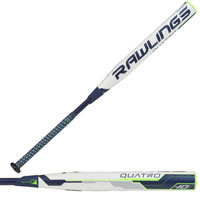 Rawlings Quatro Fastpitch Softball Bat -10