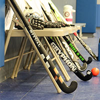 Field Hockey Sticks at Longstreth Sporting Goods Store