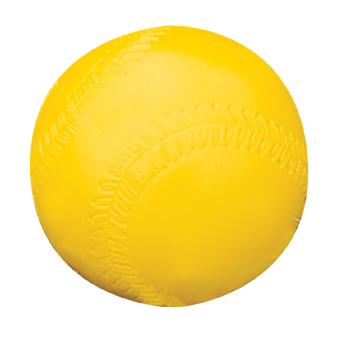 JUGS 12'' LITE-FLITE PRACTICE SOFTBALL - OPTIC YELLOW