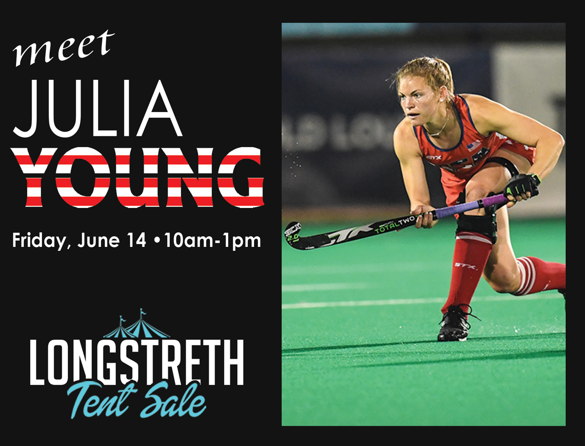 USA Field Hockey player Julia Young