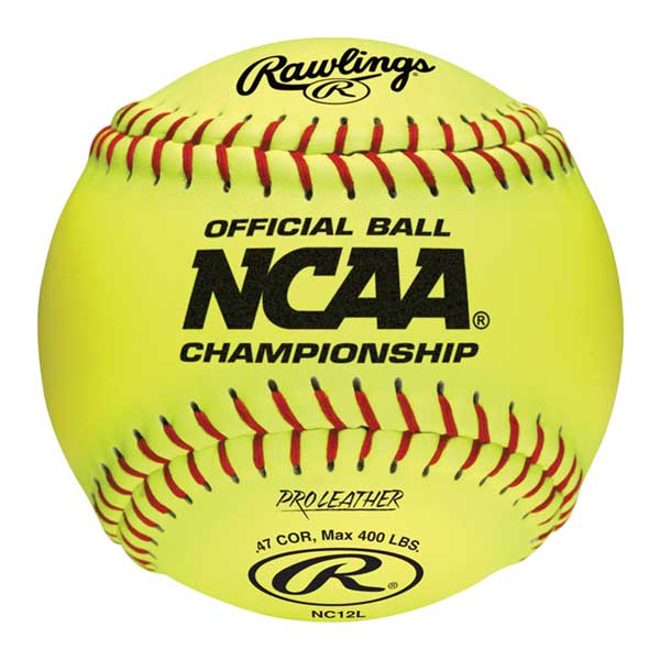 Rawlings Official Ncaa 12 Quot Fastpitch Softball Longstreth Com